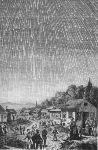 Sternschnuppenschauer der Leoniden 1833
